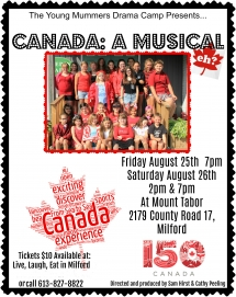 Canada a musical eh poster