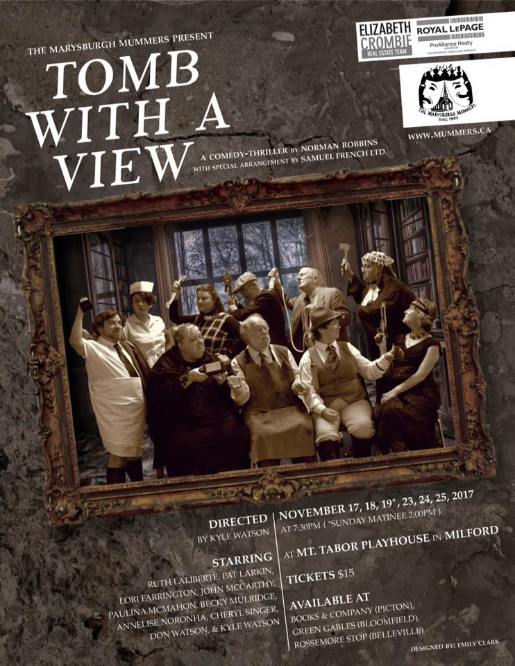 Tomb with a view poster