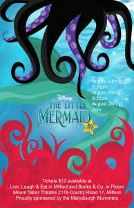 The Little Mermaid show bill